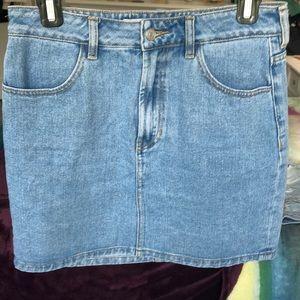 Brandy Melville Blue Denim Skirt